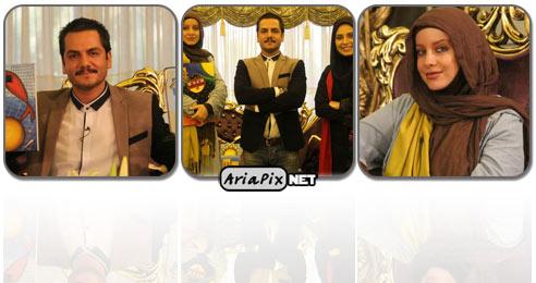 عکس جدید شراره رخام, عکس جدید عباس غزالی