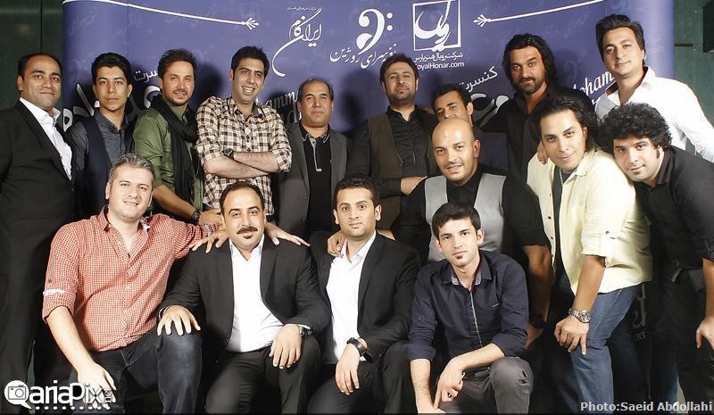 کنسرت محمد علیزاده, کنسرت محمد علیزاده 93, بازیگران و هنرمندان در کنسرت محمد علیزاده