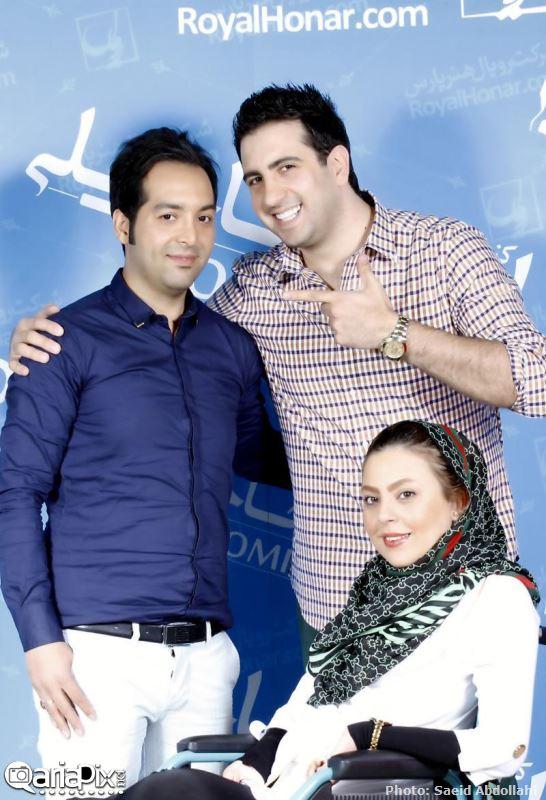 احسان و سولماز در کنسرت امید حاجیلی
