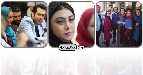 مراسم تجلیل از عوامل و بازیگران سریال مدینه و انقلاب زیبا