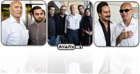 تجلیل از جمشید هاشم پور