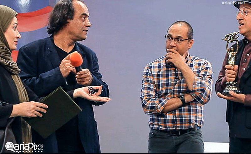 اهدای تندیس شانزدهمین جشن سینمای ایران