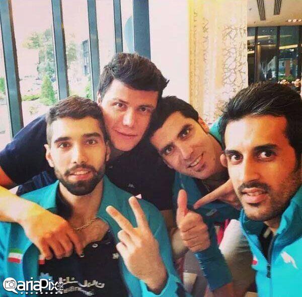 والیبالیستهای ایرانی | سید محمد موسوی,سعید معروف