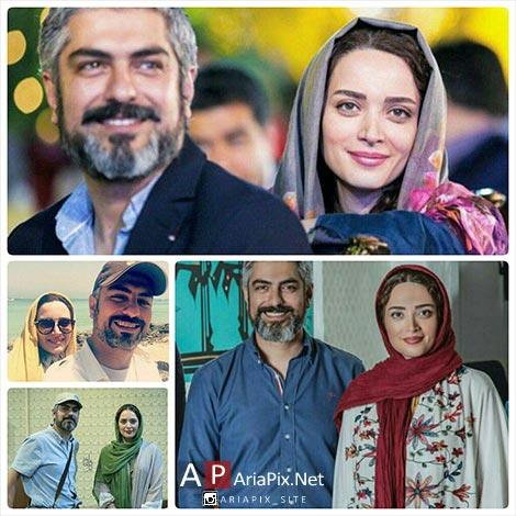 مهدی پاکدل و همسرش بهنوش طباطبایی + گفتگو جدید