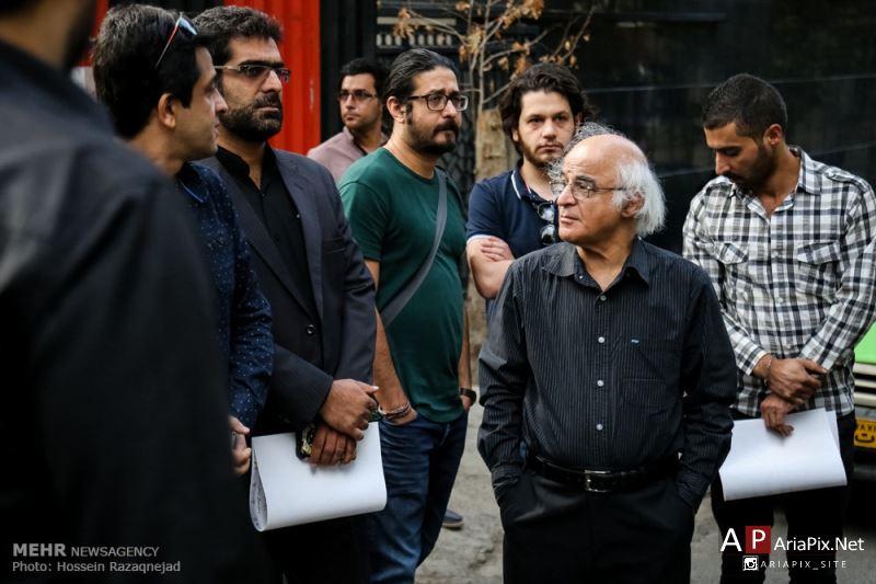 عکسهای مراسم تشییع علی طباطبایی