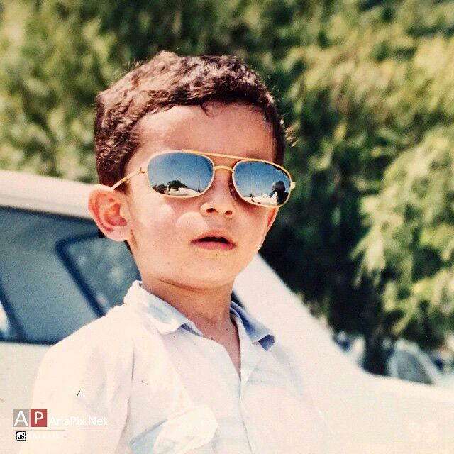 عکسی از دوران کودکی علی شادمان
