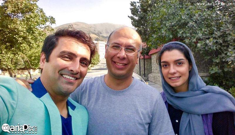 عکسهای جدید امین زندگانی و همسرش الیکا عبدالرزاقی در برنامه خندوانه