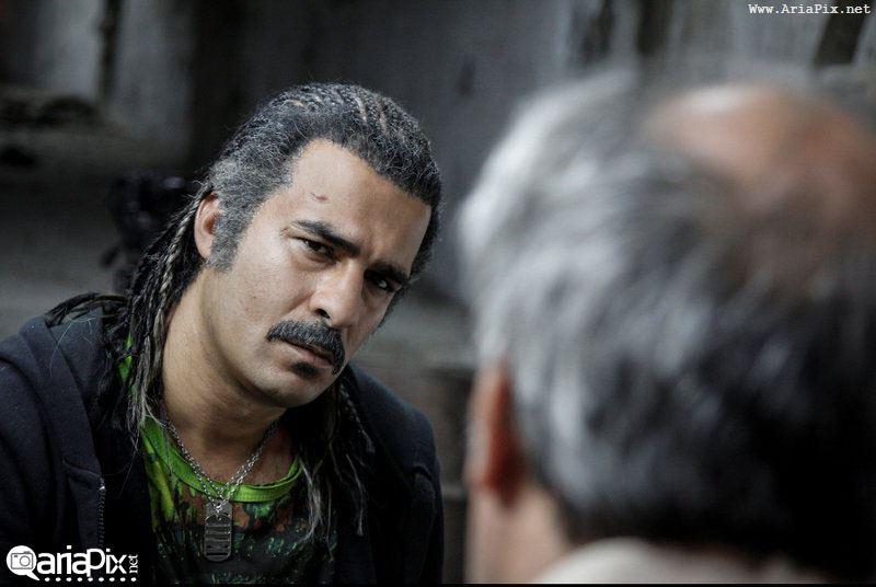 گریم یوسف تیموری در سریال آمین