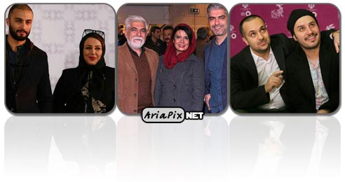بازیگران در جشنواره فجر, عکس بازیگران در جشنواره فجر 94