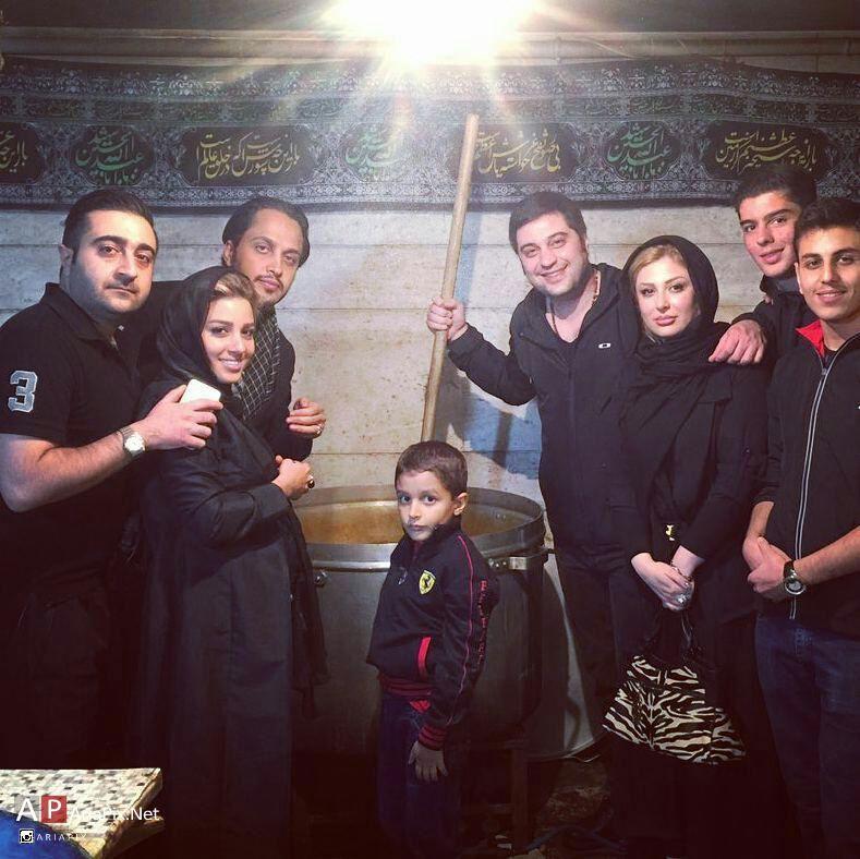 بازیگران و هنرمندان در ایام عزاداری محرم ۹۴ + تصاویر