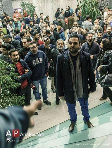 احسان علیخانی در مراسم اکران فیلم چهارشنبه 19 اردیبهشت
