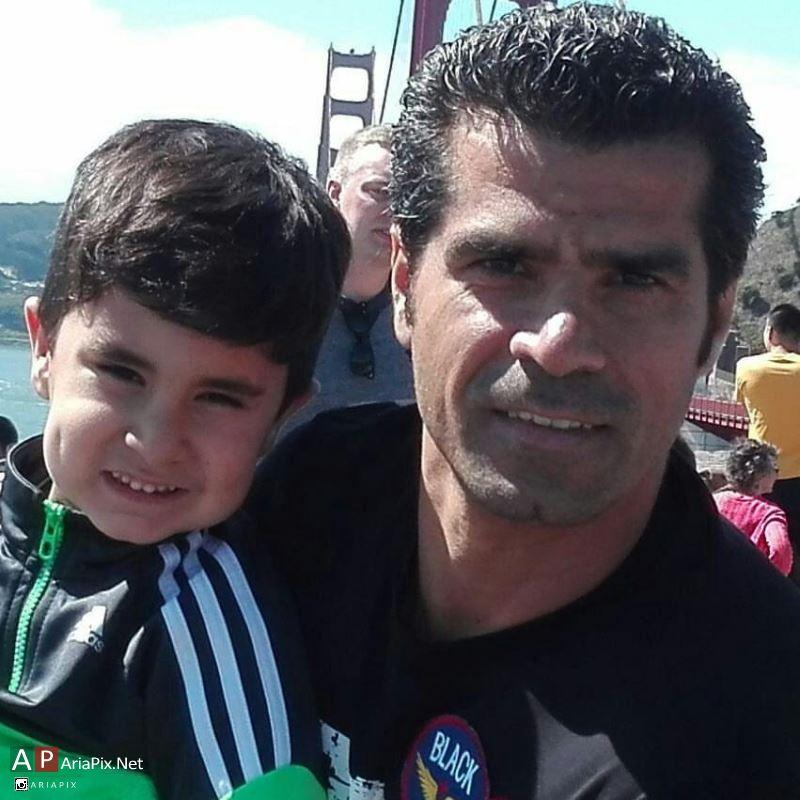 هادی ساعی و پسرش