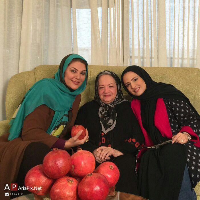 عکس های جدید بازیگران و هنرمندان در شب یلدا ۹۴