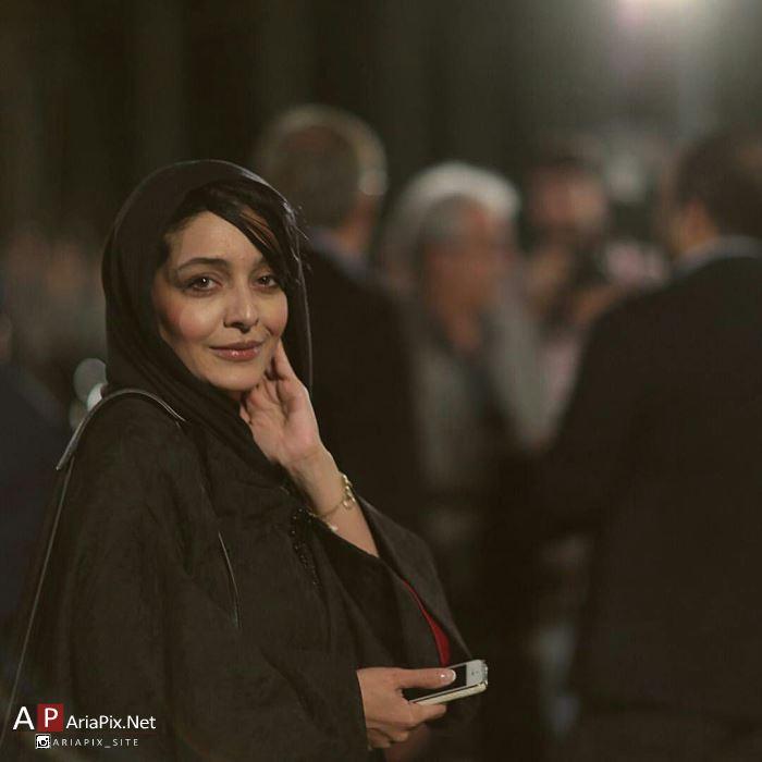 ساره بیات بازیگر زن در مراسم شام خصوصی جشن سینمای ایران