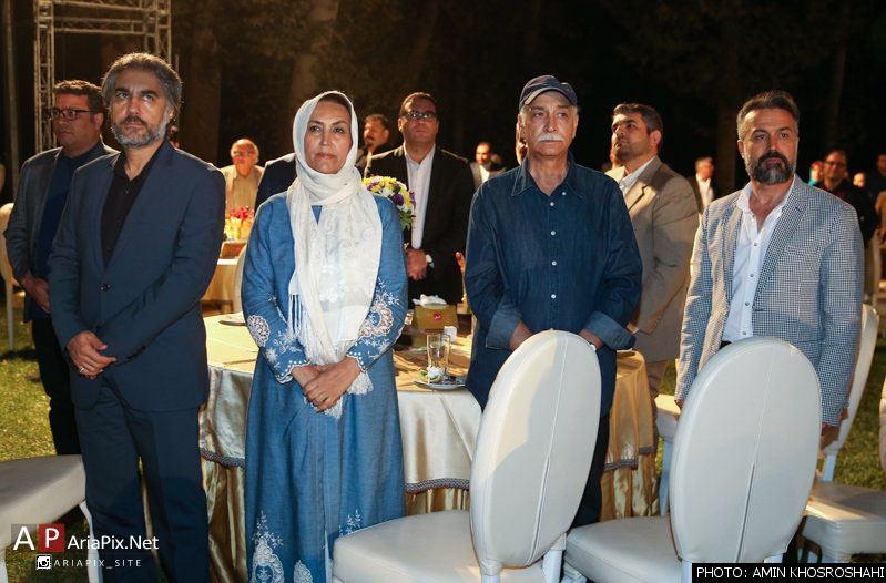 بازیگران و هنرمندان جشن روز ملی سینما