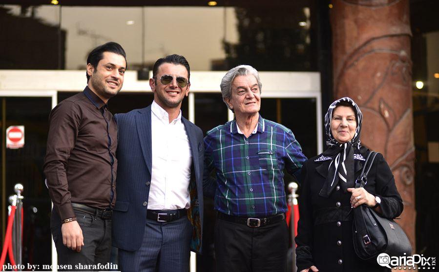 پانزدهیمن جشن حافظ, فرش قرمز جشن حافظ, بازیگران در جشن حافظ 94 افشار