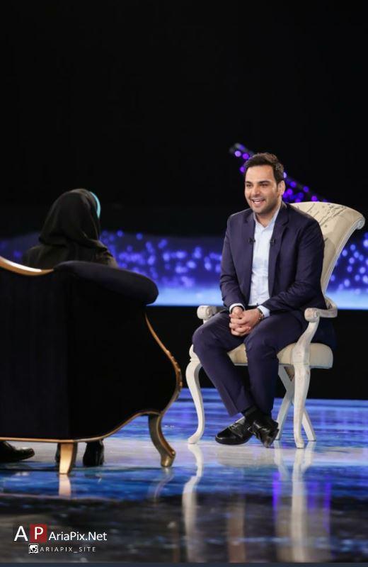 سری اول عکسهای برنامه ماه عسل ۹۴ با اجرای احسان علیخانی + عکسهای مهمانان برنامه