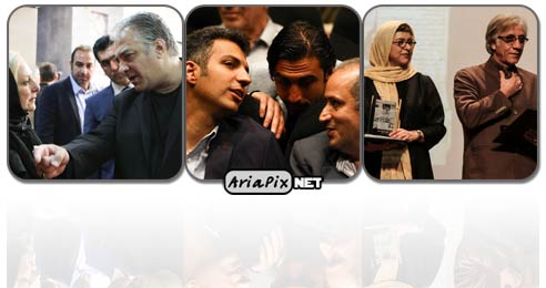 مراسم اکران خصوصی فیلم من ناصر حجازی هستم