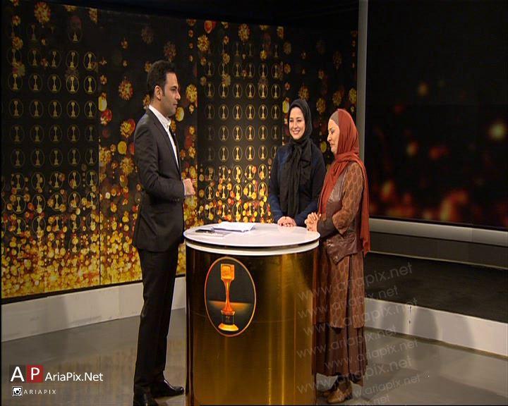 مهراوه شریفی نیا و آزیتا حاجیان در برنامه سه ستاره