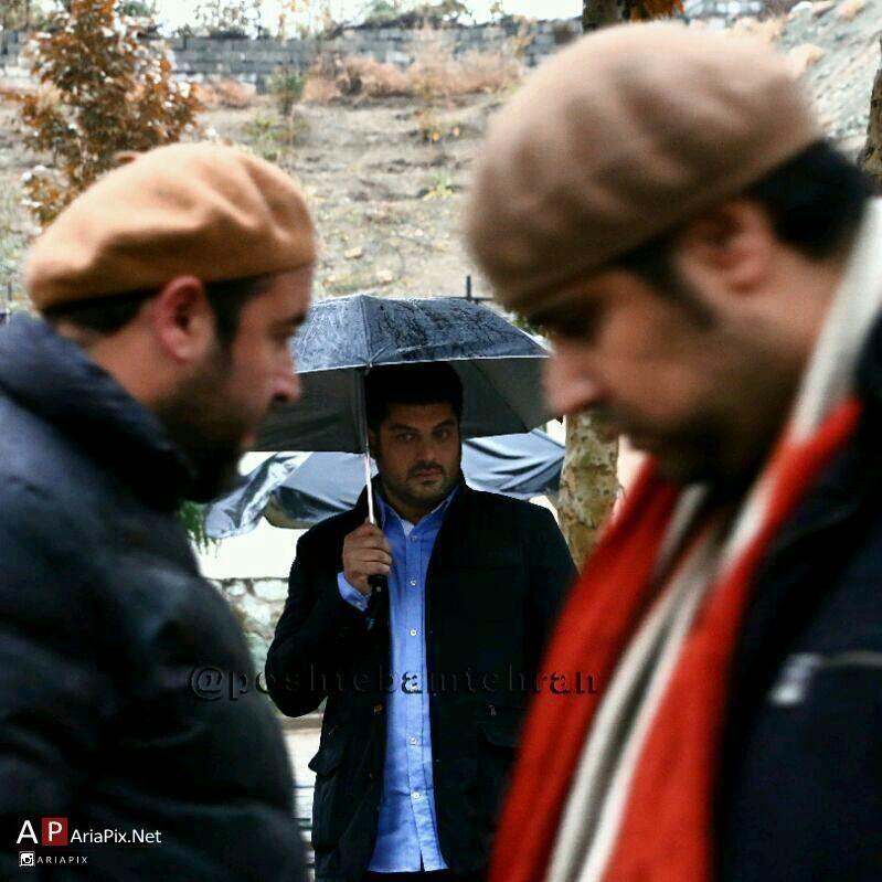 پشت صحنه سریال پشت بام تهران + عکس