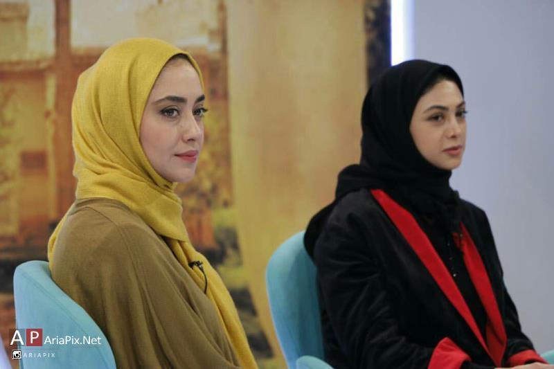 آزاده صمدی و بهاره کیان افشار در خوشا شیراز دی 94