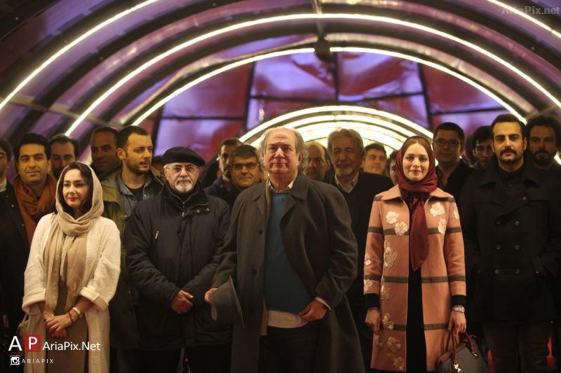 فرش قرمز فیلم سیانور با حضور بازیگران و عوامل فیلم