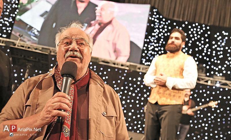 ناصر ملک مطیعی در کنسرت علی زندوکیلی