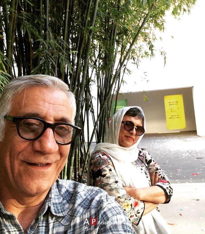 رویا تیموریان و همسرش
