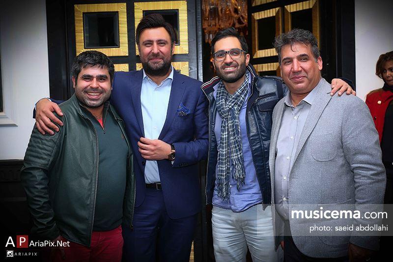 مراسم جشن رونمایی آلبوم گفتم نرو محمد علیزاده