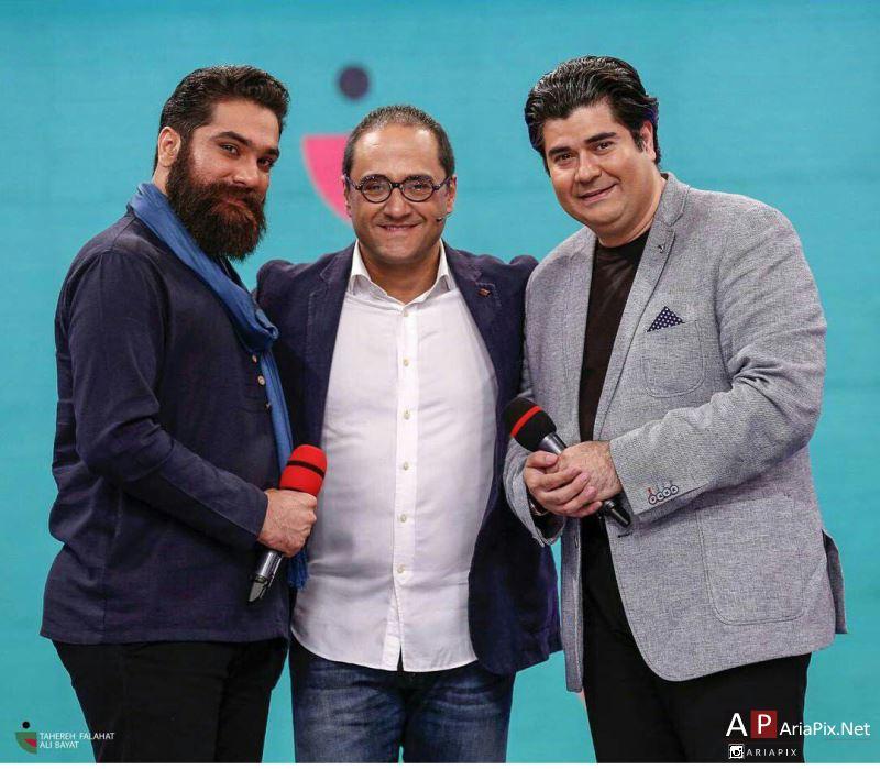 سالار عقیلی و علی زندوکیلی و رامبد جوان