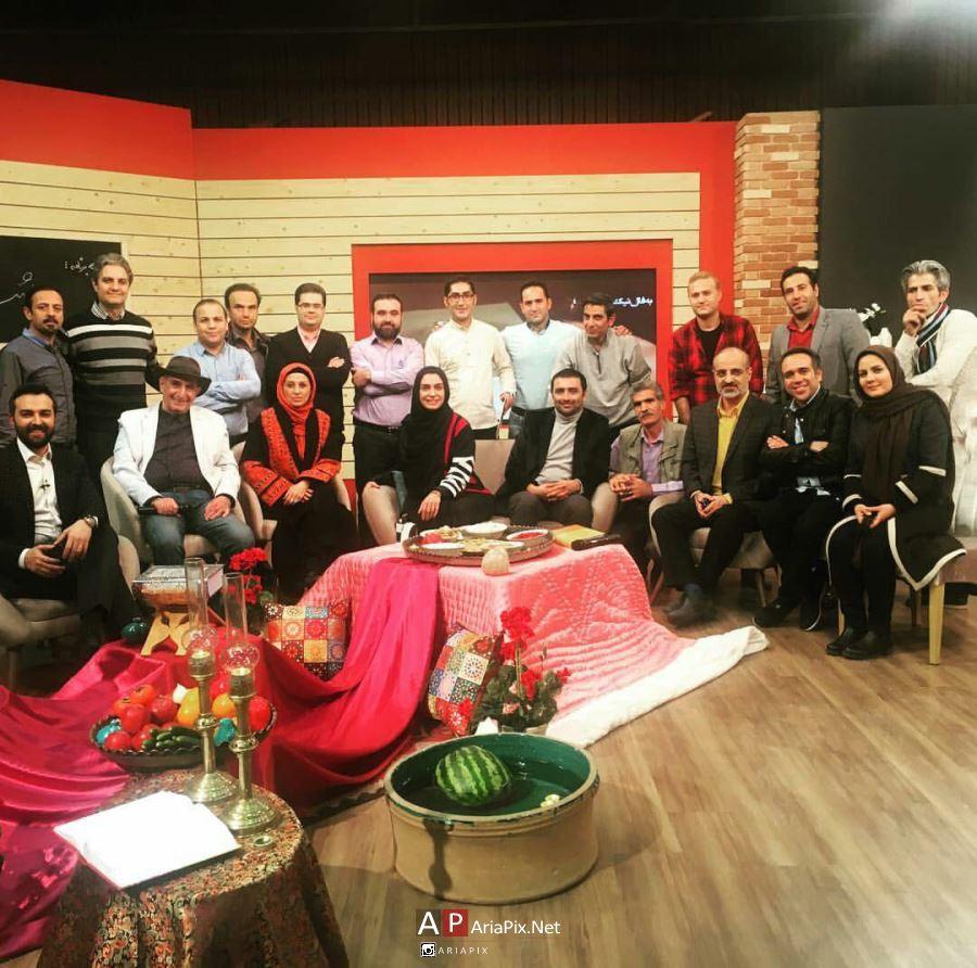 بازیگران در شب یلدا 95