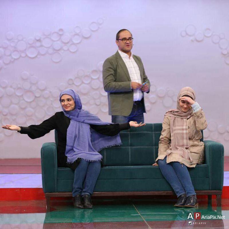 بازیگران زن در برنامه خندوانه سال 95