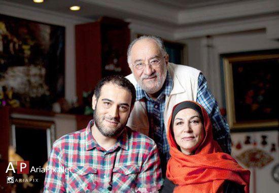 بیوگرافی داریوش ارجمند, داریوش ارجمند و همسرش