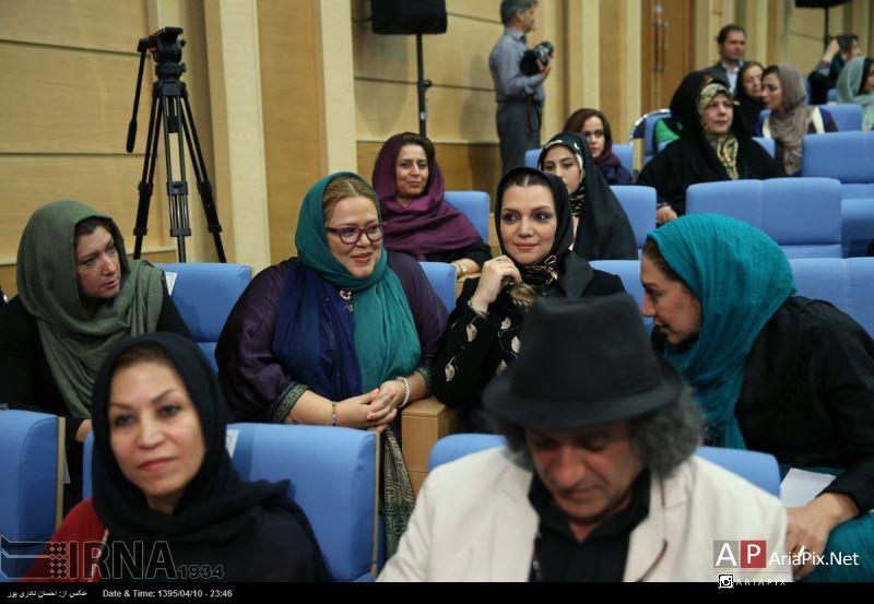 افطاری هنرمندان با رییس جمهور روحانی رمضان 95