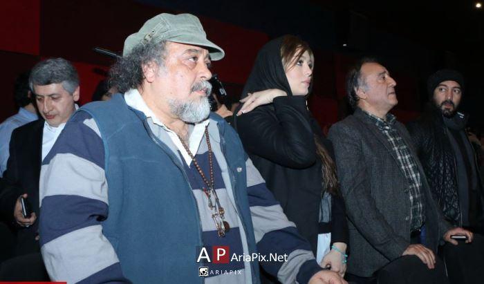 مراسم اکران مردمی فیلم سه بیگانه