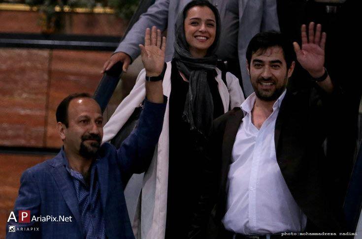 مراسم استقبال از ورود عوامل و بازیگران فروشنده به ایران