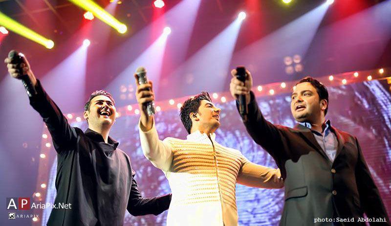 کنسرت فرزاد فرزین در سال 95 تهران