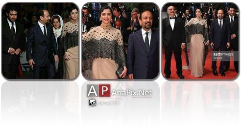 عکسهای مراسم فرش قرمز فیلم فروشنده در جشنواره کن 2016