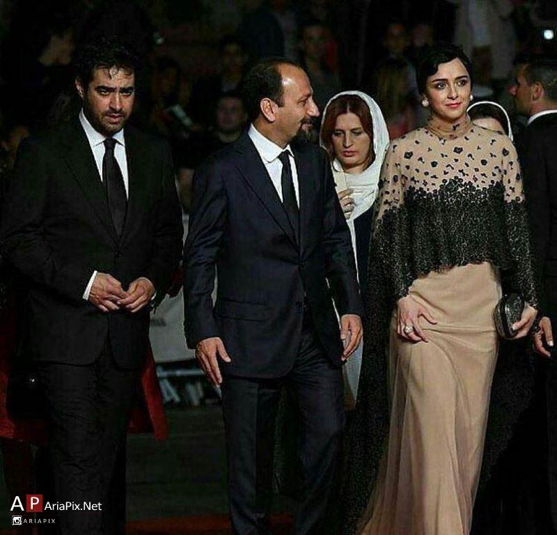 مراسم فرش قرمز فیلم فروشنده در جشنواره کن 2016