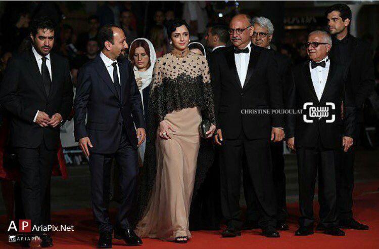 عکسهای مراسم فرش قرمز فیلم فروشنده در جشنواره کن 2016 ...