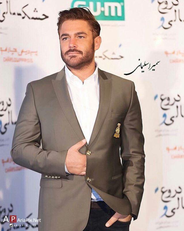 محمدرضا گلزار در اکران خصوصی فیلم خشکسالی و دروغ