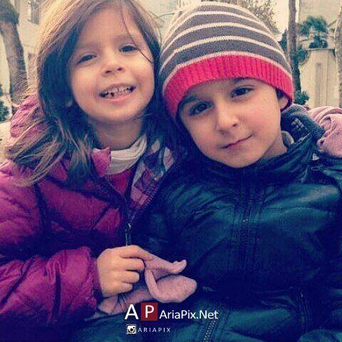 مانی و عسل فرزندان لیلا حاتمی