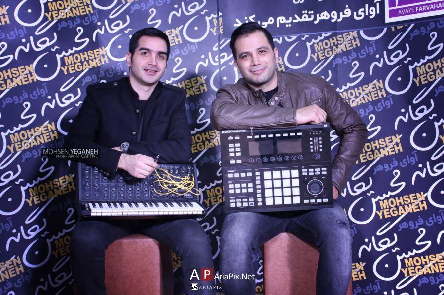 کنسرت محسن یگانه در تهران آذر 95