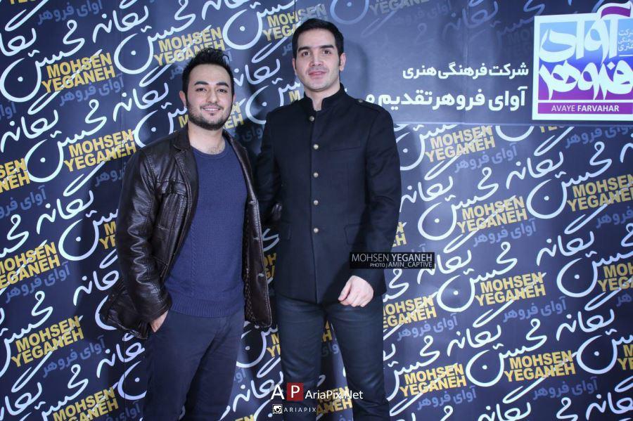 عکسهای کنسرت محسن یگانه در تهران آذر 95