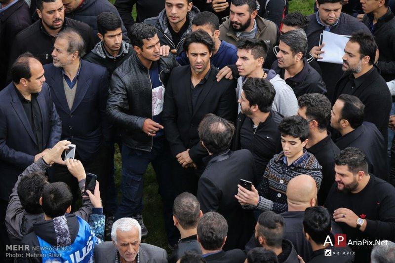 تشییع جنازه منصور پورحیدری