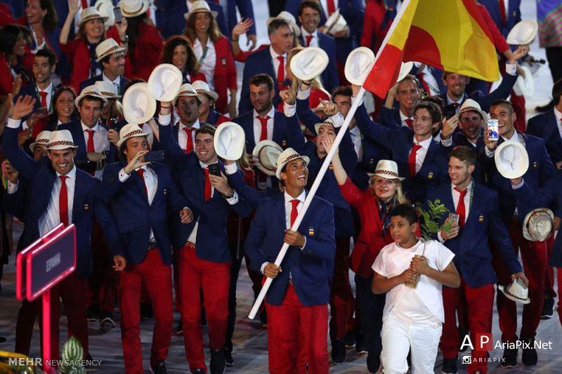 افتتاحیه المپیک ریو 2016