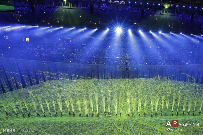 افتتاحیه المپیک 2016