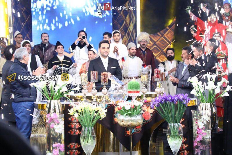 عکسهای برنامه سه ستاره سال تحویل 96 +مهمانان برنامه