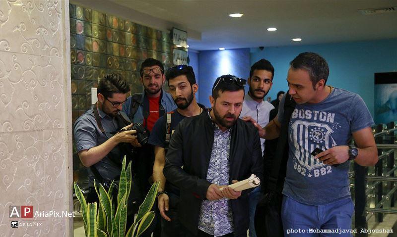 هومن سیدی و رعنا آزادی ور در نشست فیلم خشم و هیاهو در مشهد
