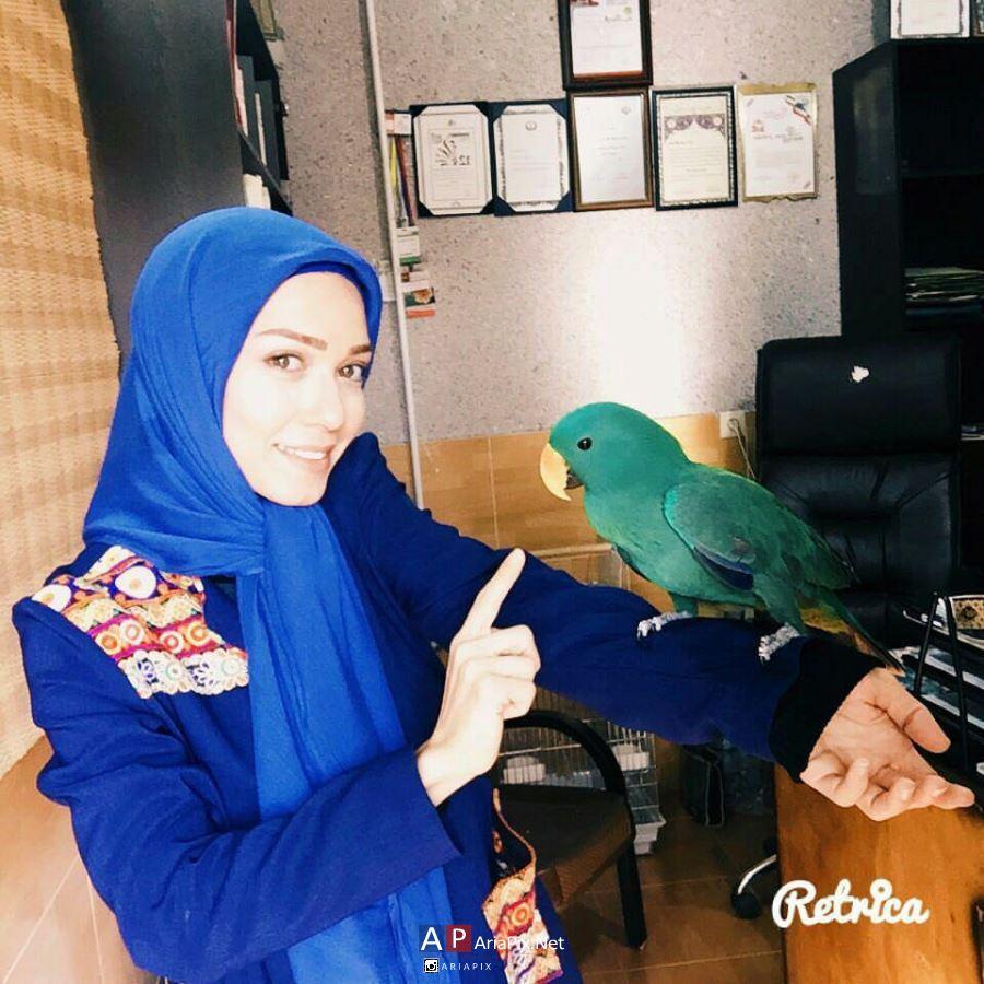 شهرزاد کمال زاده و همسرش